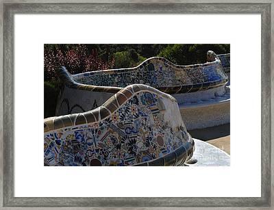 Parc Guell Barcelona Framed Print by Bob Christopher