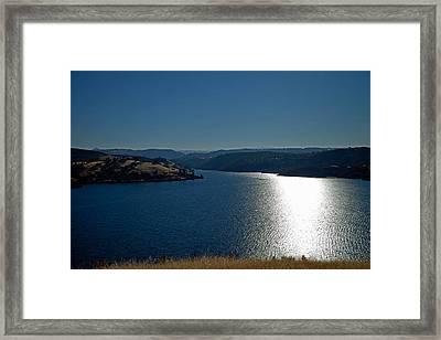 Pardee Lake Framed Print by Joe Fernandez