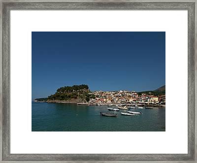Parga  Framed Print