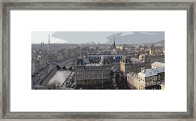 Paris 01 Framed Print by Yuriy  Shevchuk