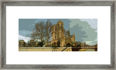 Paris 03 Framed Print by Yuriy  Shevchuk