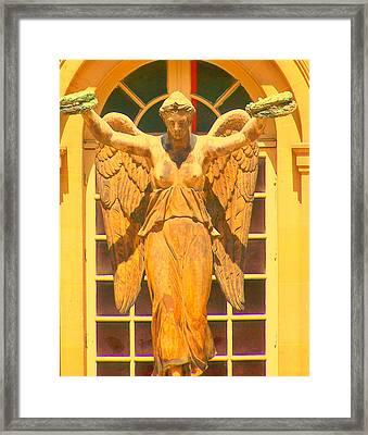 Paris Angel Framed Print