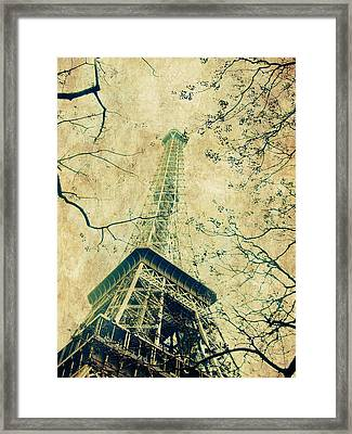 Paris Eiffel Framed Print by Antonietta Pics