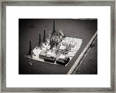 Framed Print featuring the photograph Paris For Sale by Edward Myers