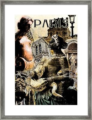 Paris Framed Print by Greg Sharpe
