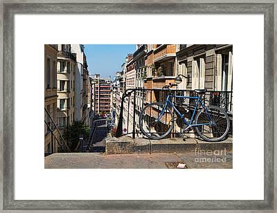 Paris Hill Framed Print