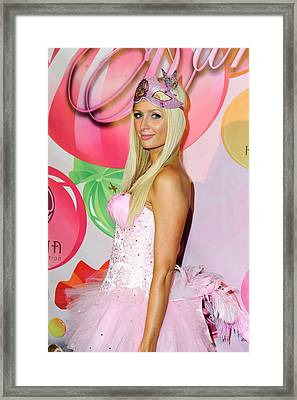 Paris Hilton At Arrivals For 6th Annual Framed Print by Everett