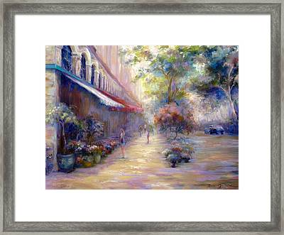 Paris In The Summer Framed Print