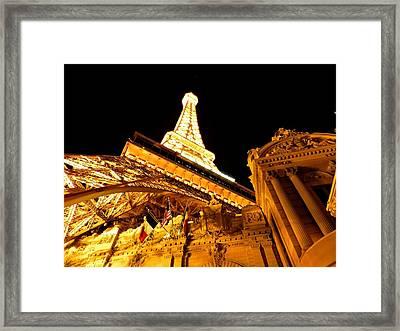 Paris Las Vegas 2012 001 Framed Print