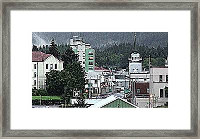 Paris Of The Pacific Framed Print