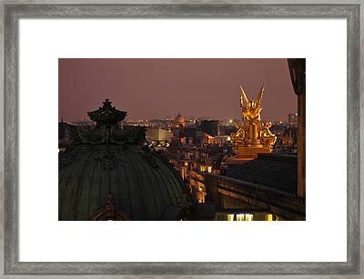 Paris Opera Framed Print by Peter Millar