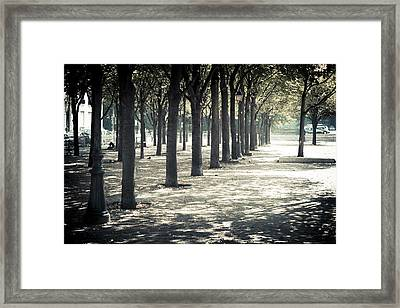 Paris Park Framed Print
