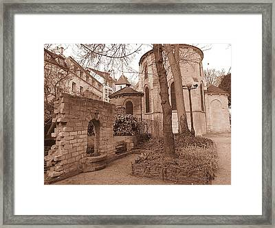 Paris Quaint  Framed Print