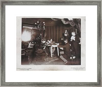 Paris Seance 1898 Framed Print by Granger