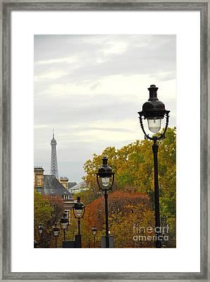 Paris Street Framed Print