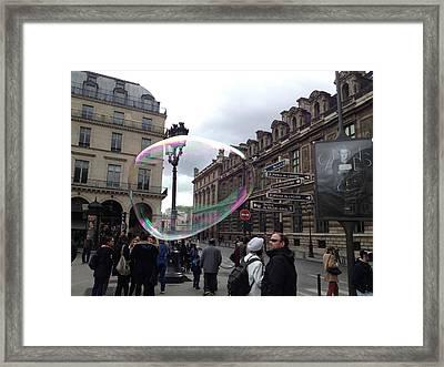 Paris Framed Print by Tore Solbakken