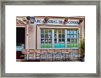 Parisian Cafe Framed Print
