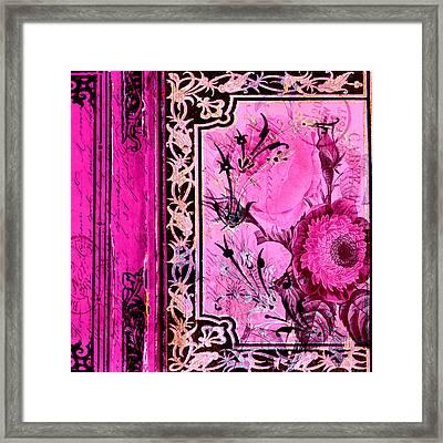 Parisian Memories Framed Print by Bonnie Bruno