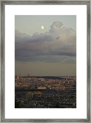 Parisian Moon Framed Print