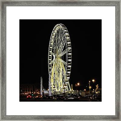 Parisian Night Framed Print by Marianna Mills