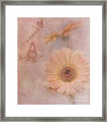 Parisian Oooo La La Framed Print by Betty LaRue