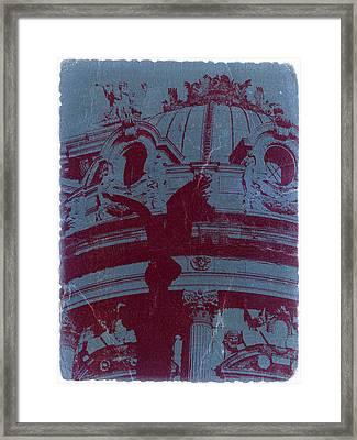 Parisian Opera Framed Print by Naxart Studio
