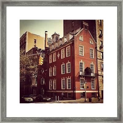 Park Avenue Architecture - New York City Framed Print