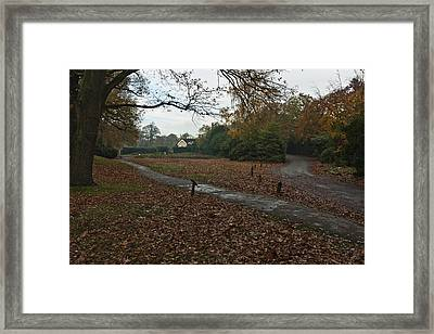 Framed Print featuring the photograph Park Cottage 2 by Maj Seda