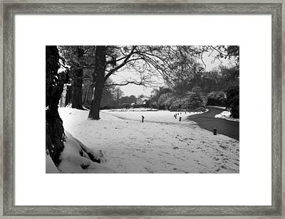 Framed Print featuring the photograph Park Cottage by Maj Seda