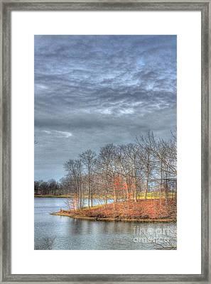 Park Peninsula Framed Print