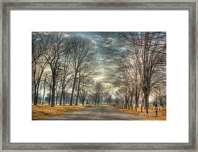 Park Road Framed Print