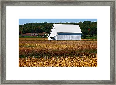 Parke County Countryside Framed Print