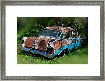 Parked Framed Print by Lisa Moore