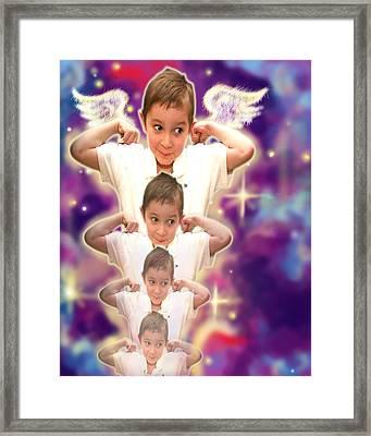 Parkinson.angelic  Framed Print