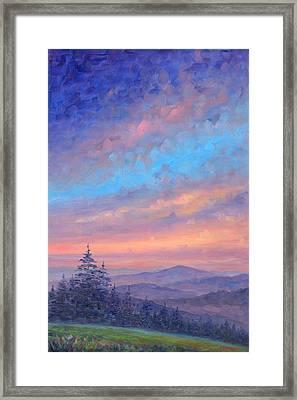Parkway Glow II Framed Print by Jeff Pittman