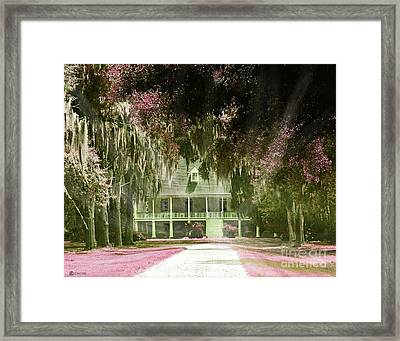 Parlange Plantation Circa 1750 New Roads La Framed Print