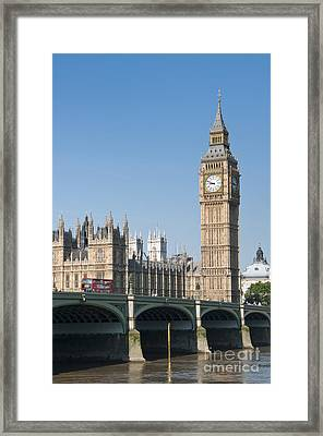 Framed Print featuring the photograph Parliament by Andrew  Michael
