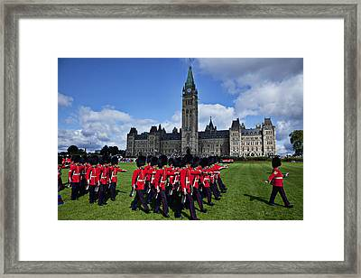 Parliament Building Ottawa Canada  Framed Print by Garry Gay