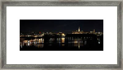 Framed Print featuring the photograph Parliament Hill Ottawa Canada by JM Photography