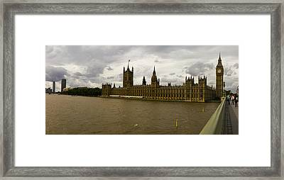 Parliment Framed Print by Keith Sutton