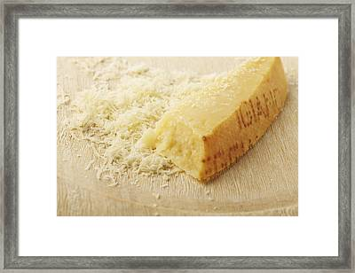 Parmesan Cheese Framed Print by James And James