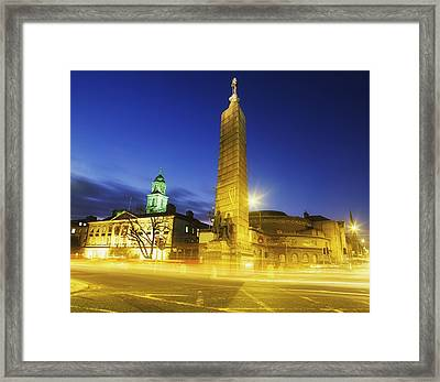 Parnell Square, Dublin, Ireland Parnell Framed Print by The Irish Image Collection