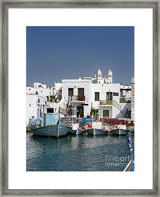 Paros Framed Print by Jane Rix