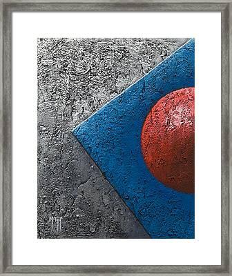 Part Sphere 1 Framed Print by Mauro Celotti