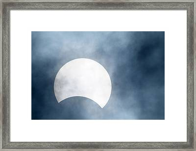 Partial Solar Eclipse, Germany, 29/03/06 Framed Print
