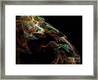 Particles Of Love  Framed Print