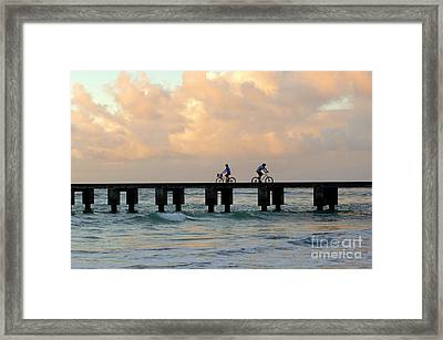 Parting Company Framed Print by Bob Christopher