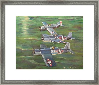 Partners In Fame 2 Framed Print by Murray McLeod