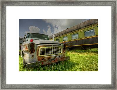 Partners In Time Framed Print