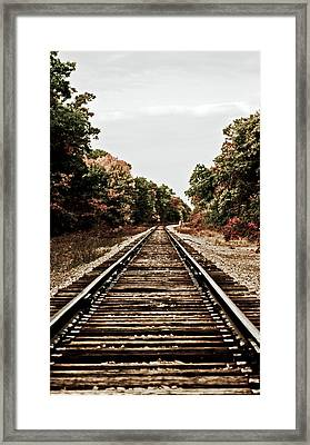 Parts Unknown Framed Print